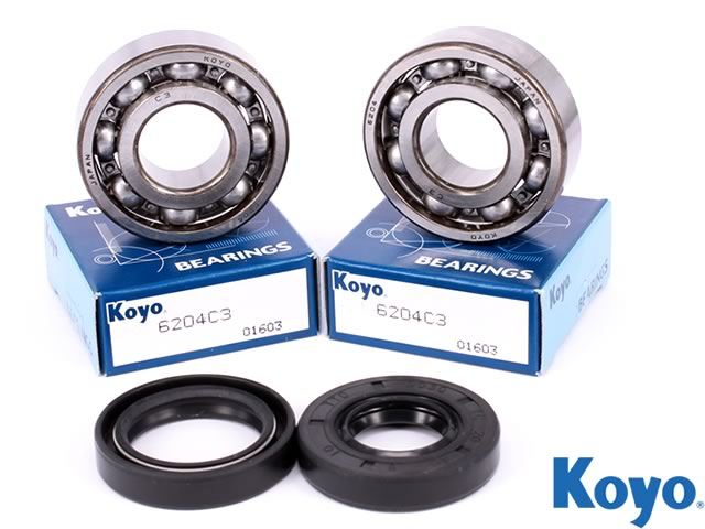 Suzuki RM 250 1989 Genuine SKF Mains Crank Bearings Set